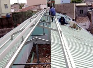 Sửa chữa mái tôn tphcm Liên Hệ O9O8.648.5O9