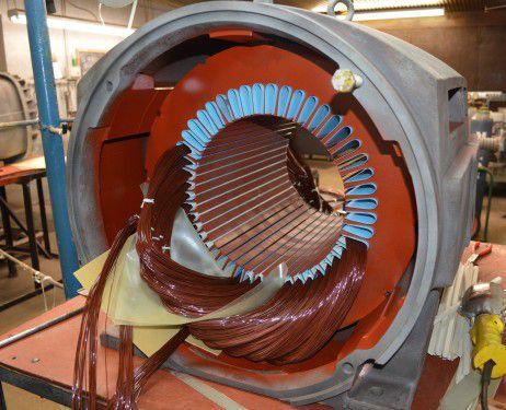 Quấn máy bơm nước công nghiệp tại bình dương