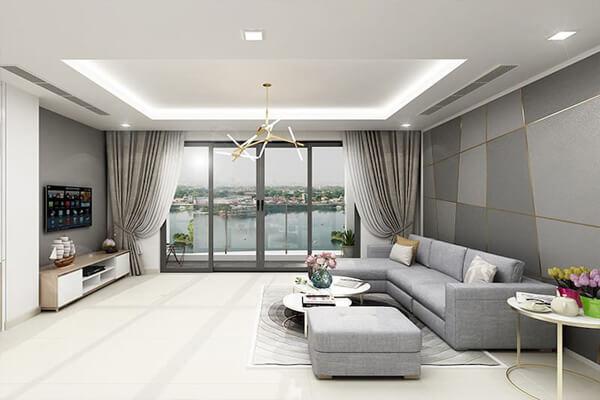 Mẫu phòng khách cho chung cư