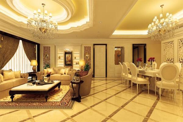 Phòng cách thiết kế theo phong cách Châu Âu