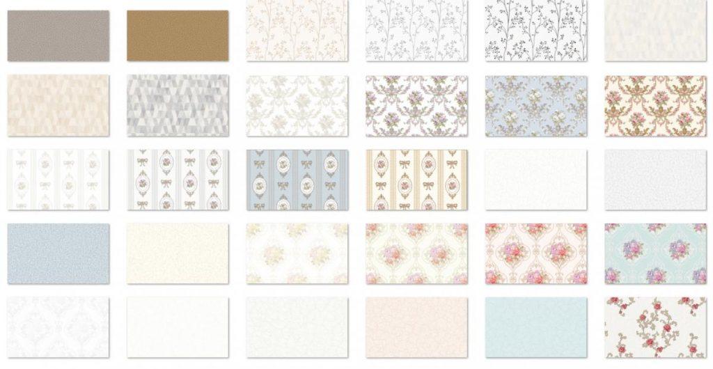 Các loại giấy dán tường phổ biến